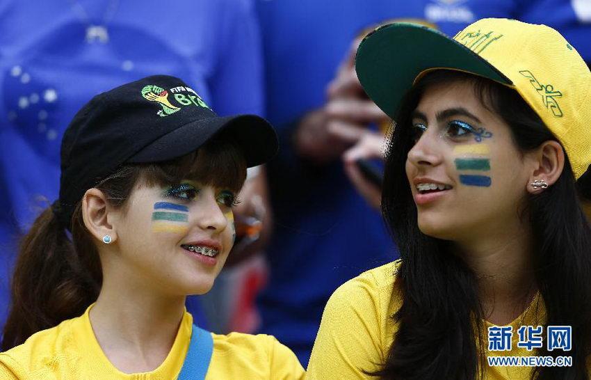 世界杯美女球迷大有看头【28】 图说中国
