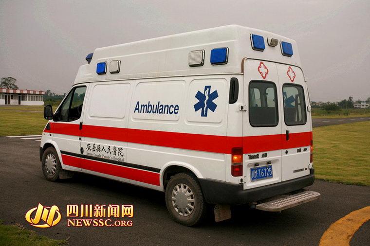 120急救车赶到.