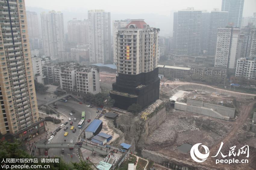 实拍重庆沙坪坝怡馨大厦爆破 全程仅2秒【2】
