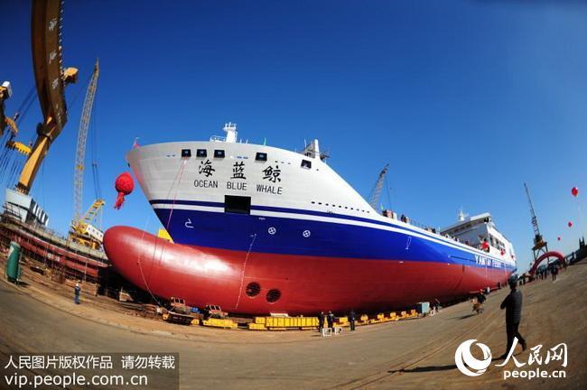 在山东省威海荣成巿石岛黄海造船有限
