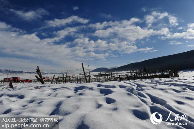 新疆哈密:冬日天山风景区美如画(2016.12.26)海外版3版