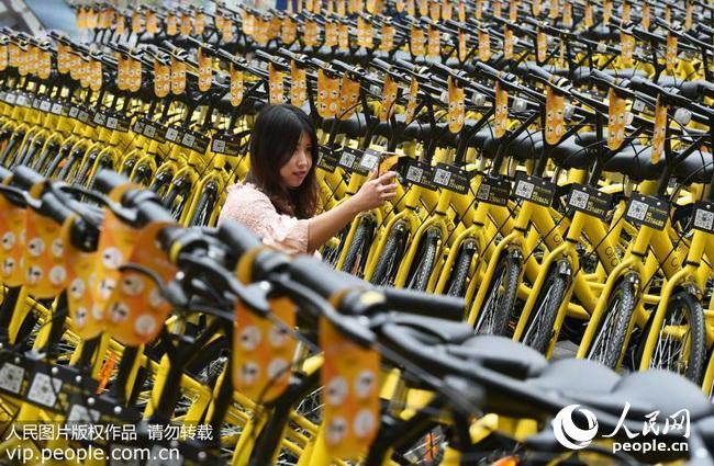重庆:2000辆共享单车在大学城投用(2017.3.28