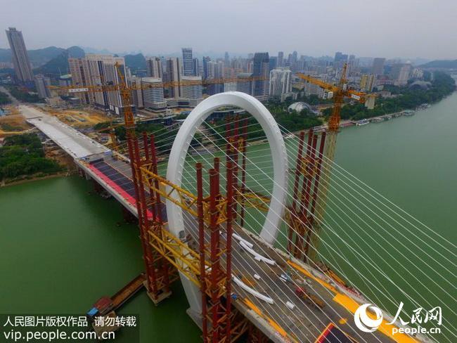 柳州白沙大橋_柳州白沙大橋效果圖圖片